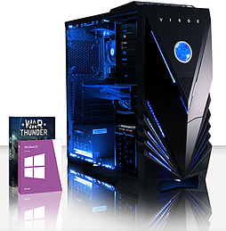 VIBOX Maximum 6 - 3.5GHz Intel Quad Core Gaming PC (Nvidia GTX 960, 8GB RAM, 1TB, Windows 8.1) PC