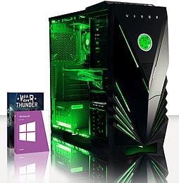 VIBOX Optimus 9 - 4.0GHz INTEL Quad Core, Gaming PC (Radeon R9 270X, 16GB RAM, 2TB, Windows 8.1) PC