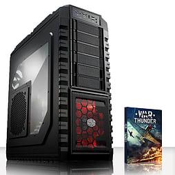 VIBOX Apex 1 - 4.0GHz INTEL Quad Core, Gaming PC (Nvidia Geforce GTX 970, 8GB RAM, 1TB, No Windows) PC