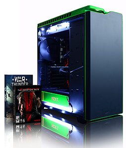 Vibox Quasar 40 - 4.2GHz Intel Quad Core Gaming PC (Nvidia GTX 960, 8GB RAM, 2TB, No Windows) PC
