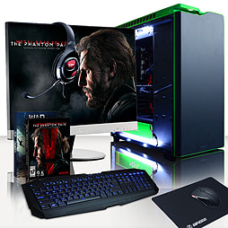 Vibox Quasar 42 - 4.2GHz Intel Quad Core Gaming PC Pack (Nvidia GTX 960, 32GB RAM, 2TB, No Windows) PC