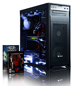 Vibox Viper 5 - 4.4GHz Intel Quad Core Gaming PC (Nvidia Geforce GTX 970, 16GB RAM, 3TB, No Windows) PC