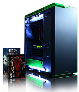 Vibox Viper 49 - 4.4GHz Intel Quad Core Gaming PC (Nvidia GTX 970, 8GB RAM, 3TB, Windows 8.1) PC