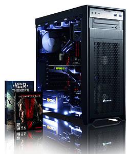 Vibox Exterminator 1 - 4.4GHz Intel Quad Core Gaming PC (Nvidia GTX 980, 8GB RAM, 3TB, No Windows) PC