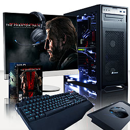 Vibox Exterminator 3 - 4.4GHz Intel Quad Core Gaming PC (Nvidia GTX 980, 32GB RAM, 3TB, No Windows) PC