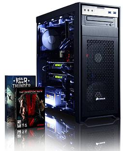 Vibox Hercules 3 - 4.4GHz Intel Quad Core Gaming PC (Nvidia GTX 980 SLI, 16GB RAM, 3TB, No Windows) PC