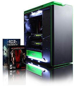 Vibox Hercules 25 - 4.4GHz Intel Quad Core Gaming PC (Nvidia GTX 980 SLI, 16GB RAM, 3TB, No Windows) PC
