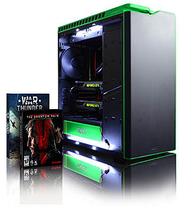 Vibox Hercules 33 - 4.4GHz Intel Quad Core Windows 8.1 Gaming PC (Nvidia GTX 980 SLI, 16GB RAM, 3TB) PC