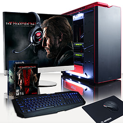 Vibox Hercules 16 - 4.4GHz Intel Quad Core Gaming PC (Nvidia GTX 980 SLI, 32GB RAM, 3TB, No Windows) PC
