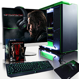 Vibox Hercules 28 - 4.4GHz Intel Quad Core Gaming PC (Nvidia GTX 980 SLI, 32GB RAM, 3TB, No Windows) PC