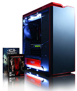 Vibox Titan 9 - 4.4GHz Intel Six Core Gaming PC (Nvidia Geforce GTX 980, 16GB RAM, 3TB, Windows 8.1) PC