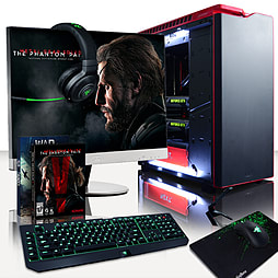 Vibox Goliath 2 - 4.4GHz Intel Six Core Gaming PC (Nvidia GTX 980 SLI, 32GB RAM, 3TB, No Windows) PC