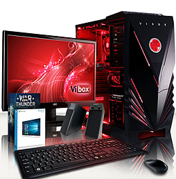 VIBOX Scope 9 - 3.9GHz AMD Dual Core Gaming PC Pack (Nvidia GT 730, 8GB RAM, 500GB, Windows 8.1) PC