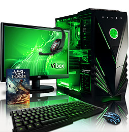 VIBOX Destroyer 10 - 3.5GHz Intel Six Core Gaming PC (Nvidia GTX 960, 16GB RAM, 1TB, No Windows) PC