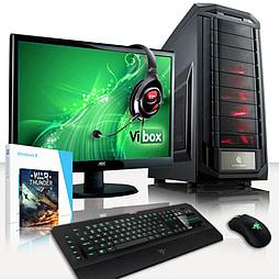 VIBOX Predator 6 - 4.2GHz AMD Quad Core Gaming PC Pack (Radeon R9 280X, 8GB RAM, 1TB, Windows 8.1) PC