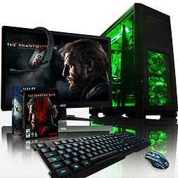 VIBOX Apache 9L - 4.1GHz AMD Six Core Gaming PC Pack (Nvidia GTX 960, 32GB RAM, 1TB, No Windows) PC