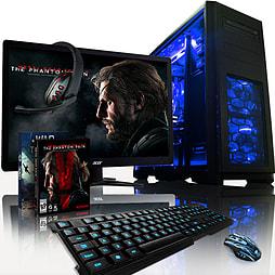 VIBOX Apache 9LW - 4.1GHz AMD Six Core Gaming PC Pack (Nvidia GTX 960, 32GB RAM, 1TB, Windows 8.1) PC