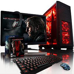 VIBOX Apache 9XS - 4.1GHz AMD Six Core Gaming PC Pack (Nvidia GTX 960, 8GB RAM, 2TB, No Windows) PC