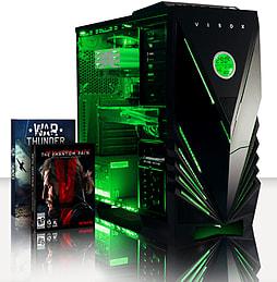 VIBOX Apache 9XL - 4.1GHz AMD Six Core Gaming PC (Nvidia Geforce GTX 960, 32GB RAM, 2TB, No Windows) PC