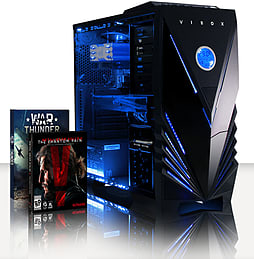 VIBOX Apache 9 - 4.1GHz AMD Six Core, Gaming PC (Nvidia Geforce GTX 960, 16GB RAM, 1TB, Windows 8.1) PC