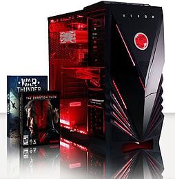 VIBOX Apache 9SW - 4.1GHz AMD Six Core Gaming PC (Nvidia Geforce GTX 960, 8GB RAM, 1TB, Windows 8.1) PC