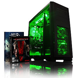 VIBOX Apache 9S - 4.1GHz AMD Six Core, Gaming PC (Nvidia Geforce GTX 960, 8GB RAM, 1TB, No Windows) PC