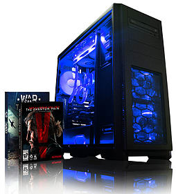 VIBOX Apache 9A - 4.1GHz AMD Six Core, Gaming PC (Nvidia Geforce GTX 960, 16GB RAM, 1TB, No Windows) PC