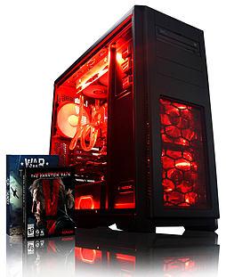 VIBOX Apache 9L - 4.1GHz AMD Six Core, Gaming PC (Nvidia Geforce GTX 960, 32GB RAM, 1TB, No Windows) PC