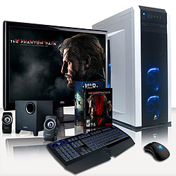 VIBOX Clarity 1 - 3.9GHz AMD Six Core Gaming PC Pack (Nvidia GTX 960, 8GB RAM, 1TB, No Windows) PC