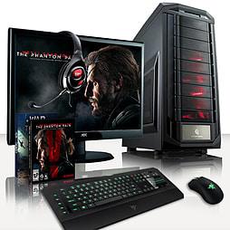 VIBOX Crosshair 4 - 3.9GHz AMD Six Core Gaming PC Pack (Nvidia GTX 970, 16GB RAM, 2TB, No Windows) PC
