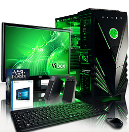 VIBOX War Lord 50 - 4.0GHz AMD Eight Core Gaming PC Pack (Radeon R7 240, 16GB RAM, 1TB, Windows 8.1) PC