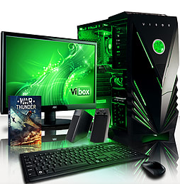VIBOX Nuclear 2 - 3.6GHz AMD Eight Core Gaming PC Pack (Radeon R9 270X, 16GB RAM, 1TB, No Windows) PC