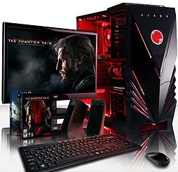 VIBOX Explosion 6 - 3.6GHz AMD Eight Core Gaming PC Pack (Nvidia GTX 960, 8GB RAM, 1TB, Windows 8.1) PC