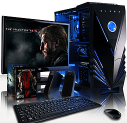VIBOX Splendour 4 - 3.6GHz AMD Eight Core Gaming PC Pack (Nvidia GTX 960, 16GB RAM, 2TB, No Windows) PC