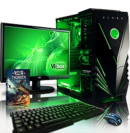 VIBOX Standard 3LW - 3.9GHz AMD Quad Core Gaming PC (Radeon HD 8570D, 32GB RAM, 1TB, No Windows) PC