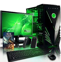 VIBOX Panoramic 13 - 3.5GHz Intel Quad Core Gaming PC Pack (Nvidia GT 730, 8GB RAM, 1TB, No Windows) PC