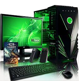 VIBOX Panoramic 16 - 3.5GHz Intel Quad Core Gaming PC (Nvidia GT 730, 16GB RAM, 2TB, No Windows) PC
