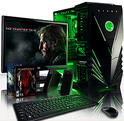 VIBOX Venom 5 - 3.5GHz Intel Quad Core Gaming PC Pack (Nvidia GTX 960, 32GB RAM, 2TB, No Windows) PC