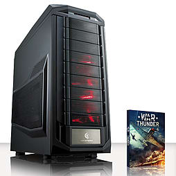 VIBOX Infinity-Turbo 1 - 4.4GHz Intel Quad Core Gaming PC (Radeon R9 270X, 8GB RAM, 1TB, No Windows) PC