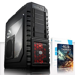 VIBOX Pinnacle Turbo 6 - 4.4GHz INTEL Quad Core, Gaming PC PC