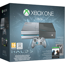 Limited Edition Halo 5 Guardians Xbox One 1TB Console Xbox One Cover Art