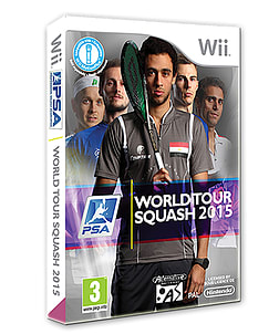 PSA World Tour Squash Wii
