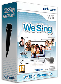 We Sing With 1 Microphone Bundle Wii