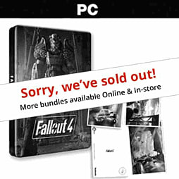 Fallout 4 Steelbook & Postcards - Only At GAME PC Games Cover Art