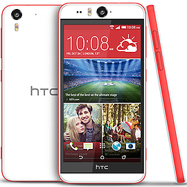 HTC Desire Eye 16GB LTE Factory Unlocked Phone (Coral) Phones