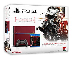 Limited Edition Metal Gear Solid V: The Phantom Pain 500GB PlayStation 4 Console - Only At GAME PlayStation 4