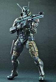 Appleseed Alpha Play Arts Kai Briareos Figurines and Sets