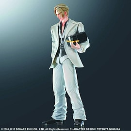 Final Fantasy VII Advent Children Play Arts KAI Actionfigur: Rufus Shinra Figurines and Sets