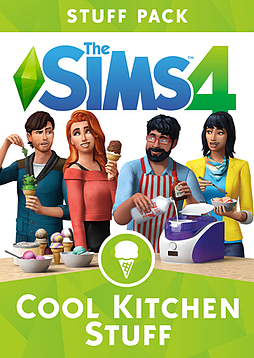 The Sims 4 Cool Kitchen Stuff PC Downloads Cover Art