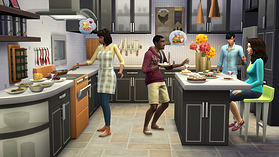 The Sims 4 Cool Kitchen Stuff screen shot 1
